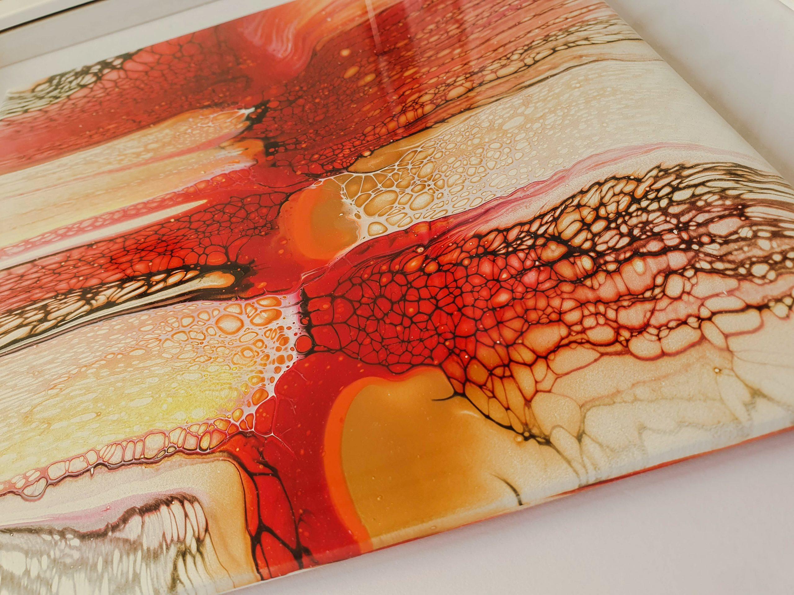 Duo Bloom Fluidart Acrylgiessen Swipe 4