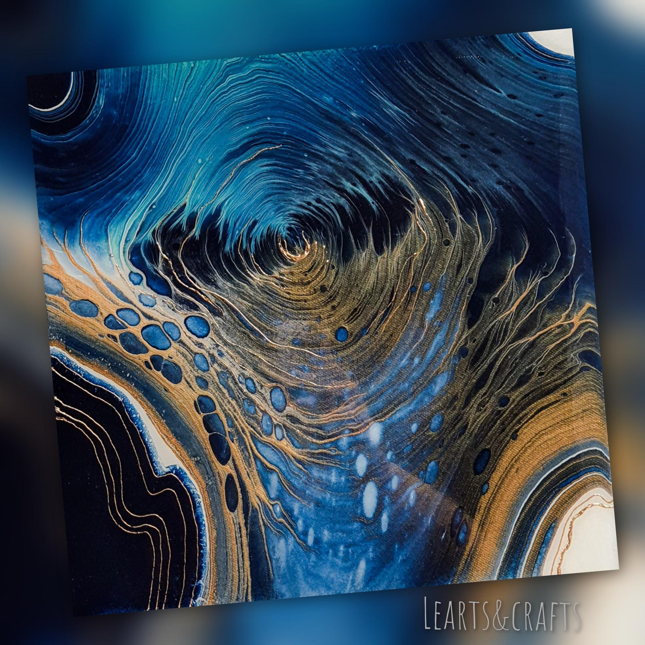 Strudel Fluidart Acrylgiessen Swirl 3