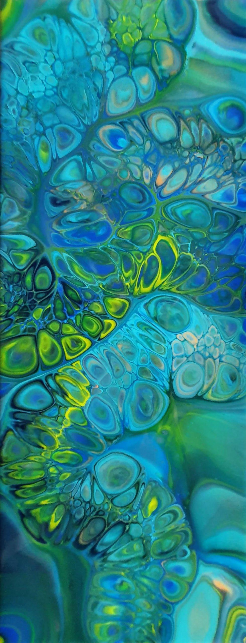 Unterwasser1 Fluidart Acrylgiessen Flipcup1