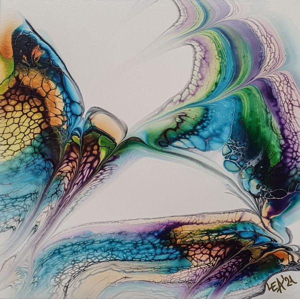 Vivid 1 Fluidart Acrylgiessen Swipe 1