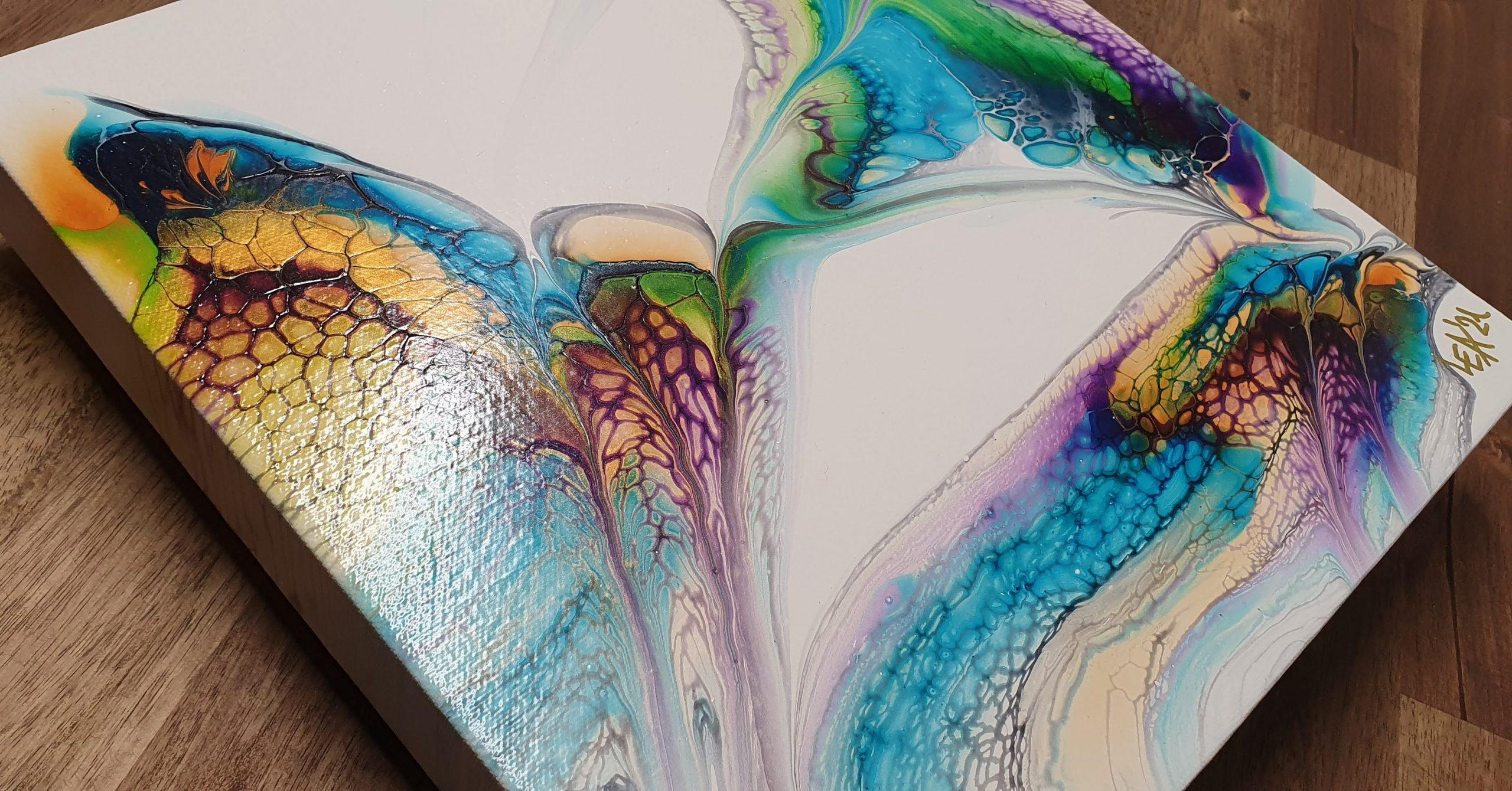 Vivid 1 Fluidart Acrylgiessen Swipe 2
