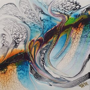 Vivid Fluidart Acrylgiessen Swipe 1